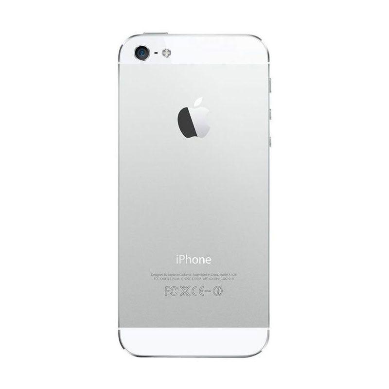Apple iPhone 5 Putih [Refurbish] Smartphone [64 GB] + Tempered Glass
