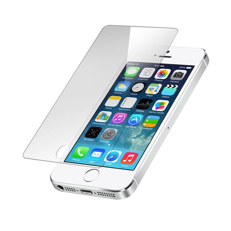Diskon Apple iPhone 5 64 GB Smartphone – Putih + Free Tempered Glass