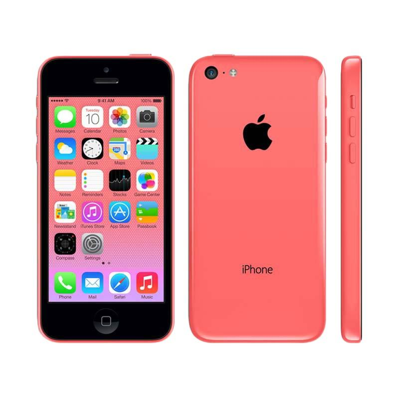 Apple iPhone 5C 16 GB Pink (Refurbish) Smartphone