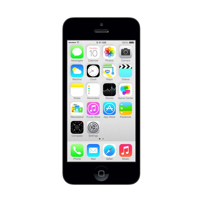 Apple iPhone 5C 16 GB Putih Smartphone [ Refurbish]