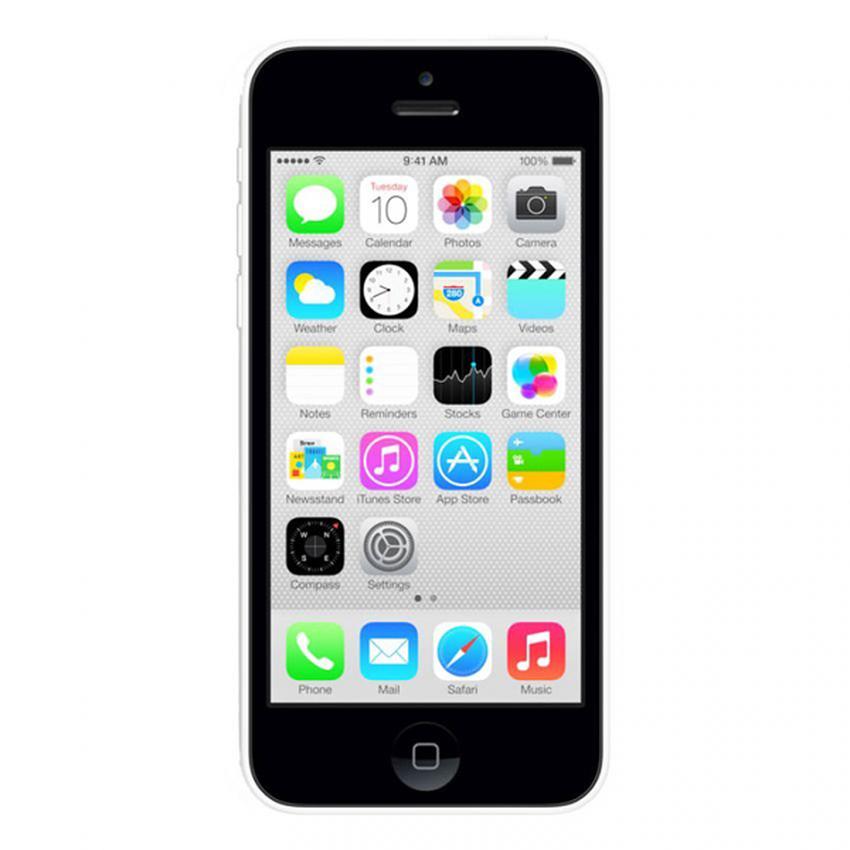 Apple iPhone 5C 16 GB Putih (Refurbish)  Smartphone