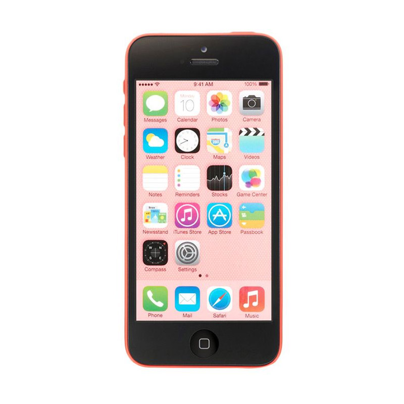 Diskon Apple iPhone 5c 32 GB Smartphone [Refurbish]- Pink