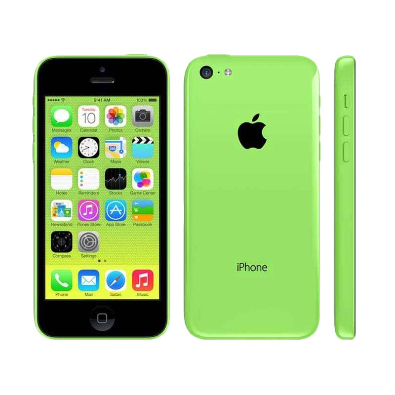 Apple iPhone 5C 32 GB Smartphone - Green Free Tempered Glass