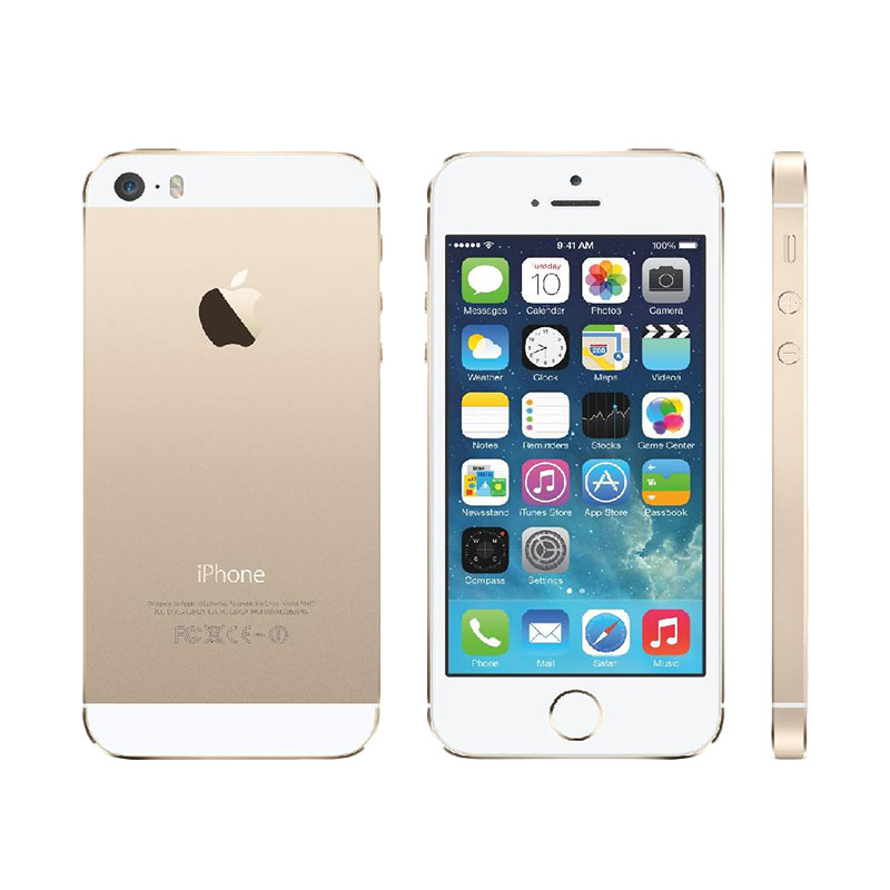 harga Apple iphone 5s 16 GB Smartphone - Gold [Refurbished] Blibli.com