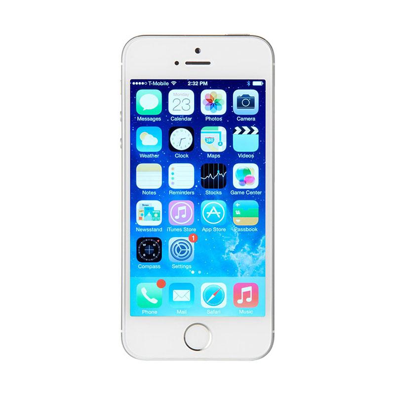 Apple iPhone 5S 16GB Smartphone - Silver [Garansi Resmi]