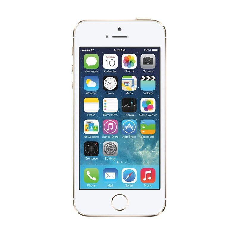 Apple iPhone 5S 32 GB Smartphone - Gold [Refurbish]