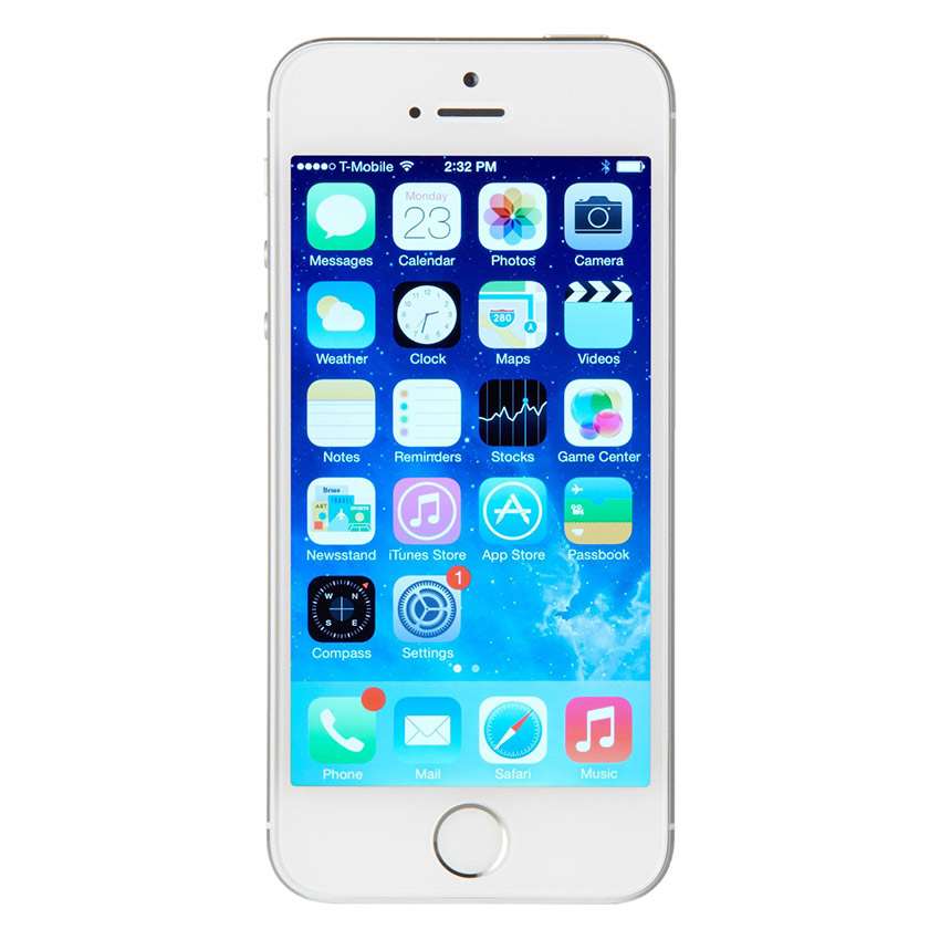 Apple iPhone 5S 32 GB Smartphone - Silver[Refurbish]