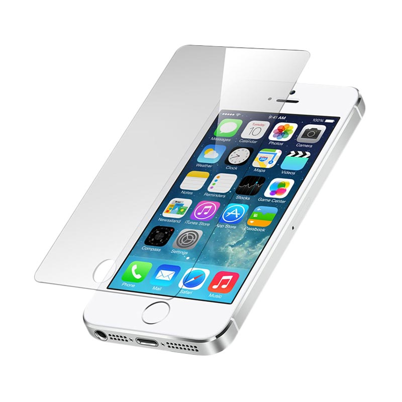 Diskon Apple iPhone 5S 64GB Smartphone – Gold + Free Tempered Glass