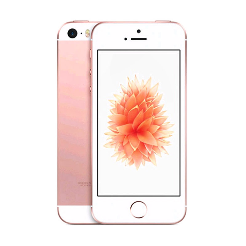 Diskon Apple iPhone 5S 64 GB Smartphone – Rose Gold [REFURBISH]