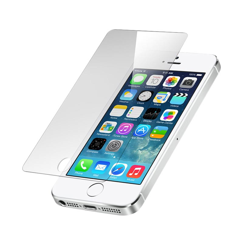 Apple iPhone 5S 64GB Smartphone - White + Free Tempered Glass