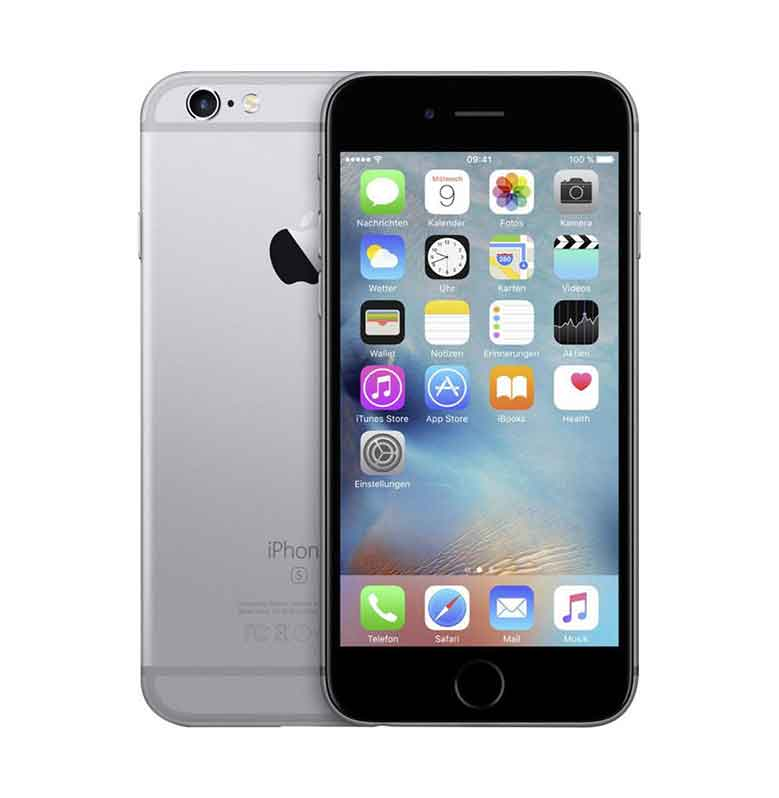 Diskon Apple iPhone 6 16 GB Smartphone – Space Gray [Refurbish]