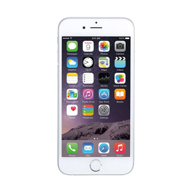 Diskon Apple Iphone 6 16GB Smartphone – Silver