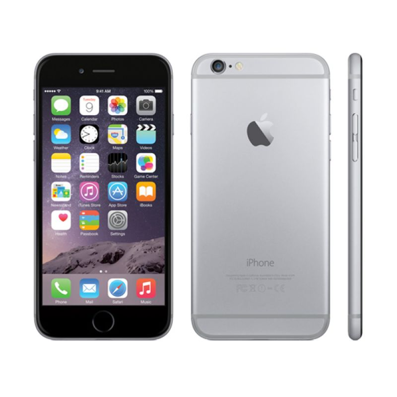 iPhone 6 64GB Space Gray. Apple Smartphone. (Refurbished)