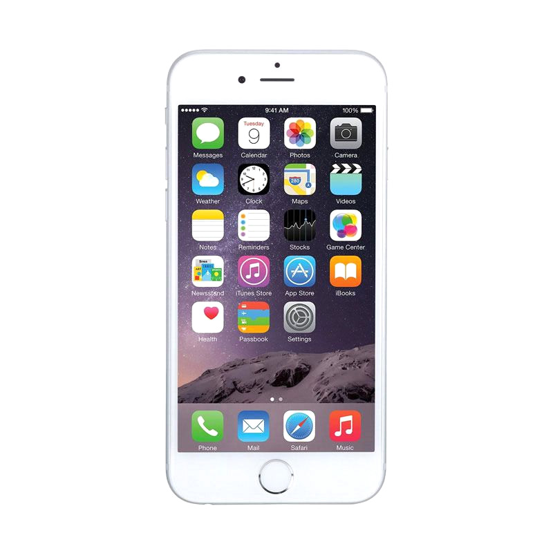 Diskon Apple iPhone 6 plus 16GB Smartphone – Silver [Garansi Distributor 1 Tahun]