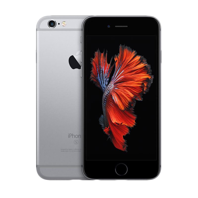 Diskon Apple iPhone 6S 64GB Smartphone – Grey Free Powerbank