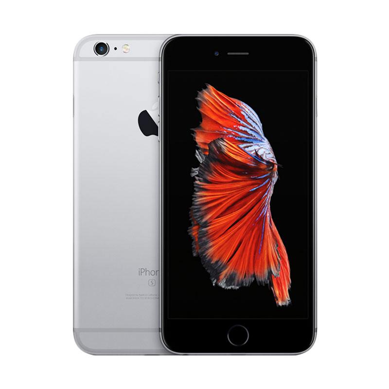 Apple iPhone 6S Plus 64 GB Smartphone - Grey [Refurbished/Garansi Distributor] - 9307048 , 15855834 , 337_15855834 , 8199000 , Apple-iPhone-6S-Plus-64-GB-Smartphone-Grey-Refurbished-Garansi-Distributor-337_15855834 , blibli.com , Apple iPhone 6S Plus 64 GB Smartphone - Grey [Refurbished/Garansi Distributor]
