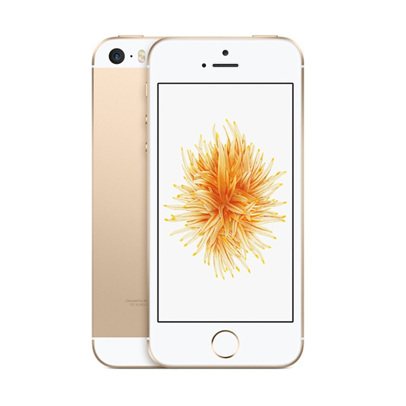 Apple IPhone SE 16 GB Smartphone - Gold [Garansi Internasional]