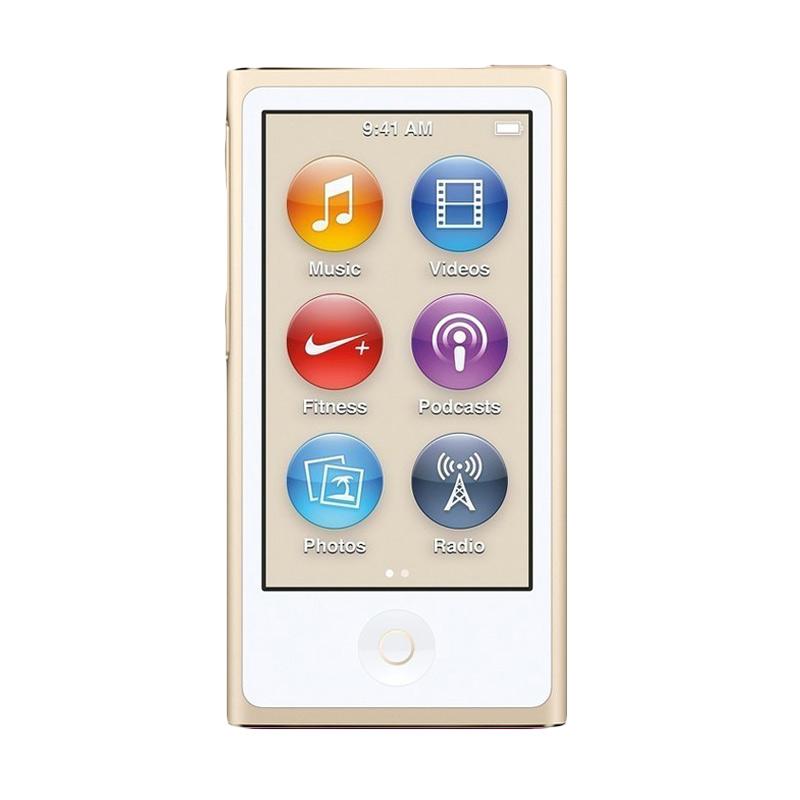 harga Apple iPod Nano 7th Generation 16GB Portable Player - Gold [Garansi Resmi] Blibli.com