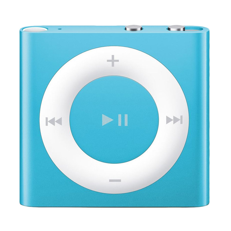 harga Apple iPod Shuffle 2 GB Portable Player - Blue Blibli.com