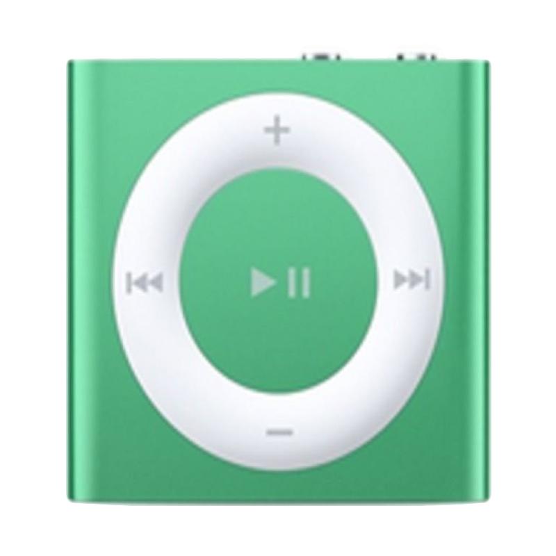 Apple iPod Shuffle Portable Player - Green [2 GB/Garansi Internasional]