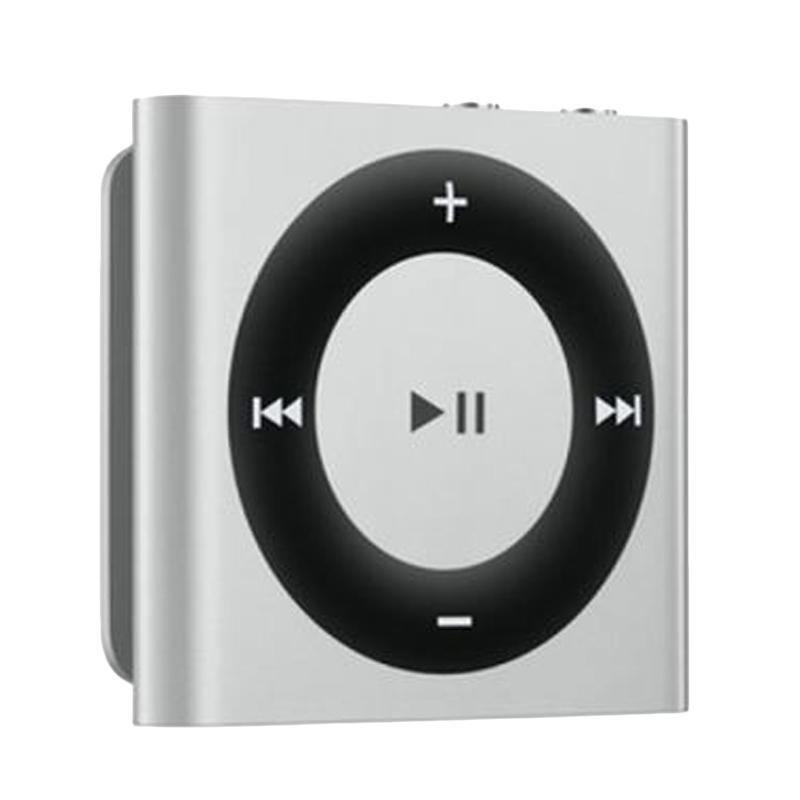 harga Apple iPod Shuffle Silver Portable Player [2 GB] Blibli.com
