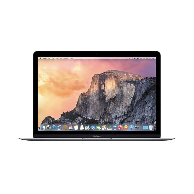 TERLARIS Apple Macbook 2016 MLH72 Notebook - Space Grey [12 Inch/RAM 8 GB/SSD 256 GB/Dual Core M3]