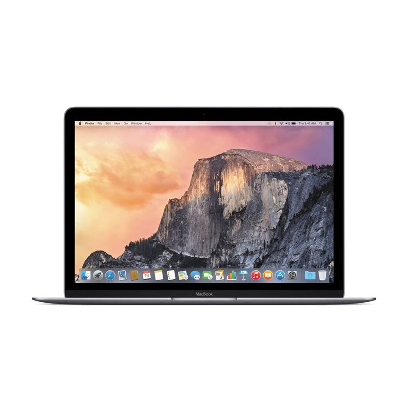 Apple Macbook 2017 MNYG2 Notebook - Space Grey [12 inch/RAM 8GB/SSD 512GB/Dual Core i5]