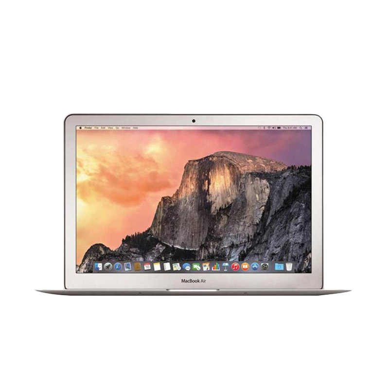 PROMO Apple Macbook Air 2016 MMGG2 Notebook - Silver [13 inch/RAM 8GB/SSD 256GB/Core i5]