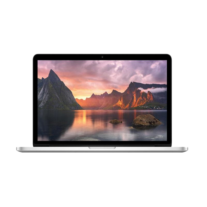 harga Apple Macbook Pro MF839 Retina Display Silver Notebook [13.3 Inch/i5/8GB/128GB SSD/Intel IRIS Graphics 6100] Blibli.com