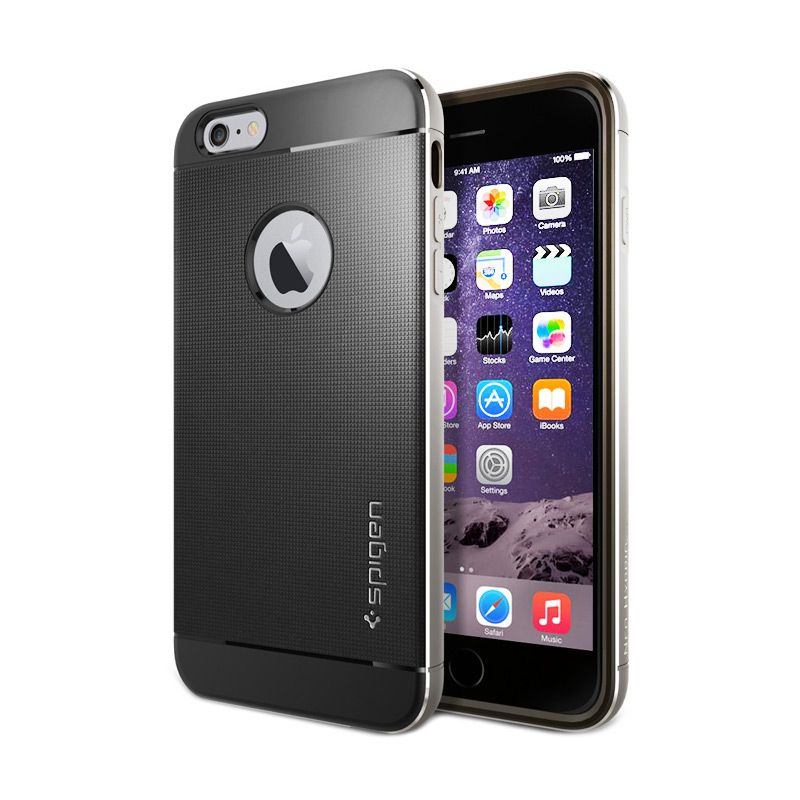 Spigen Neo Hybrid Metal Space Grey Casing for iPhone 6 Plus