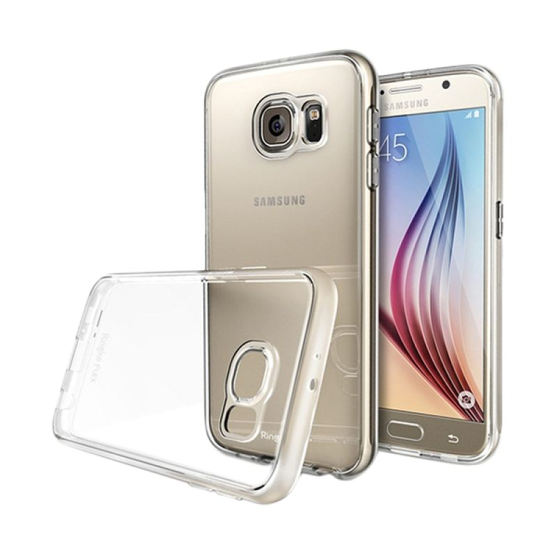 Rearth Ringke Flex Crystal View Casing for Galaxy S6 Edge