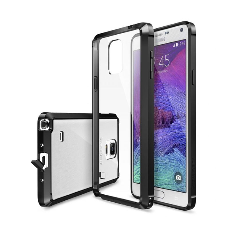 Rearth Ringke Fusion Black Casing for Samsung Galaxy Note 4