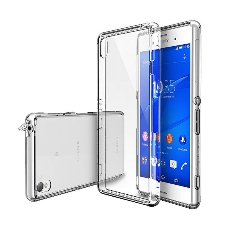 Rearth Ringke Fusion Crystal Casing for Xperia Z3