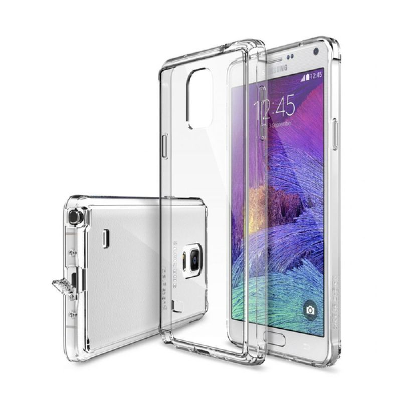 Rearth Ringke Fusion Crystal View Casing for Samsung Galaxy Note 4