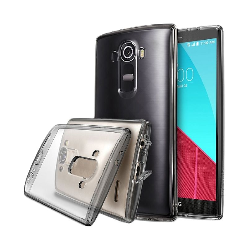 Rearth Ringke Fusion Smoke Black Casing for LG G4
