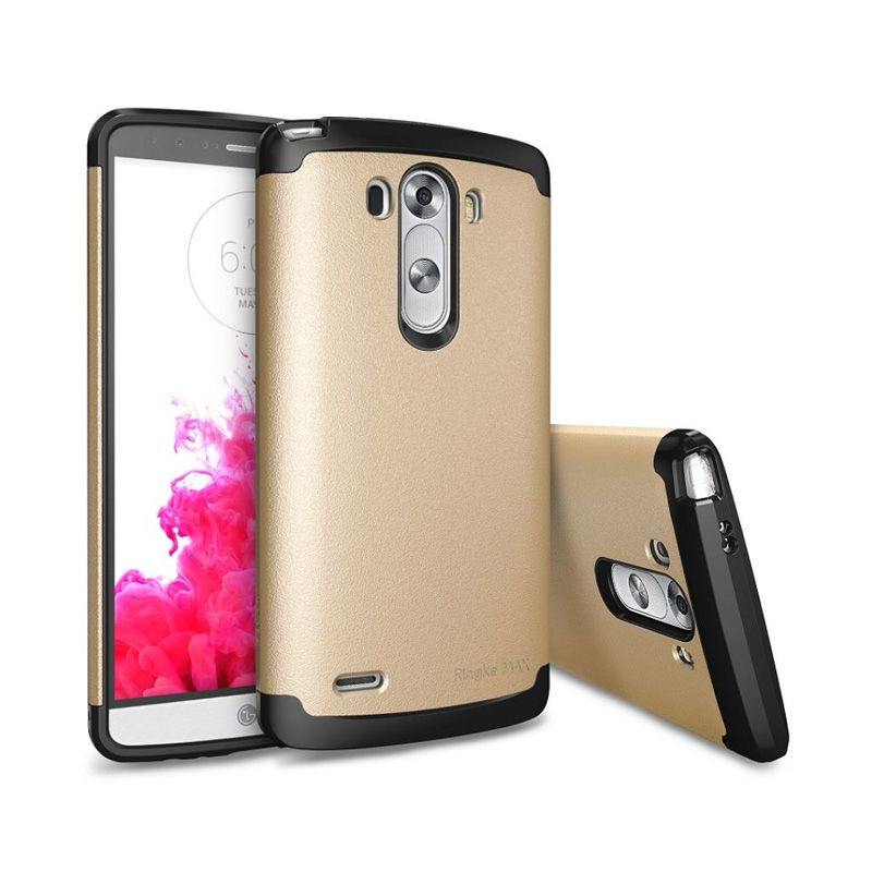 Rearth Ringke Max Royal Gold Casing for LG G3