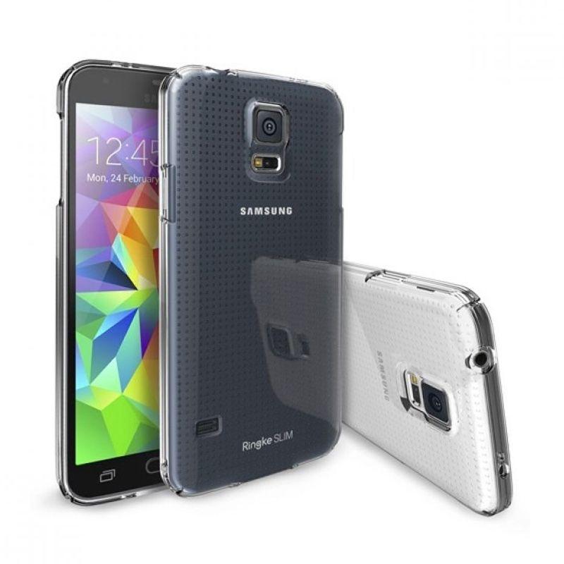 Rearth Ringke Slim Crystal Casing for Samsung Galaxy S5