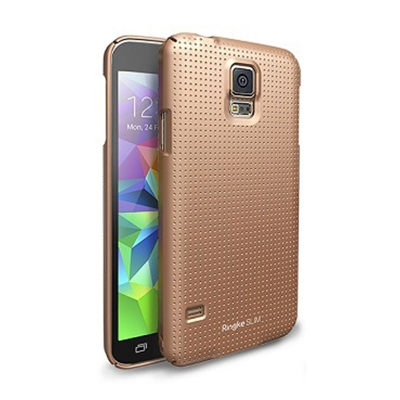 Rearth Ringke Slim Dot Copper Gold for Samsung Galaxy S5