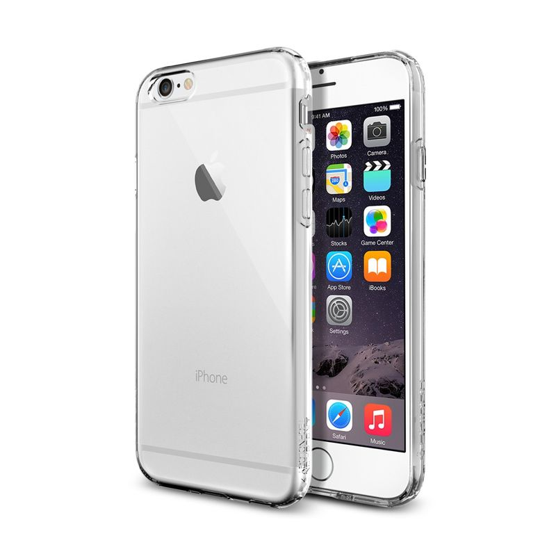Spigen Capsule Crystal Clear Casing For iPhone 6