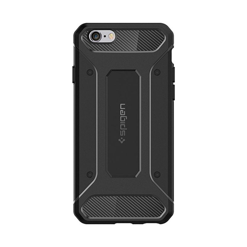 Spigen Capsule Ultra Rugged Black Casing for iPhone 6S