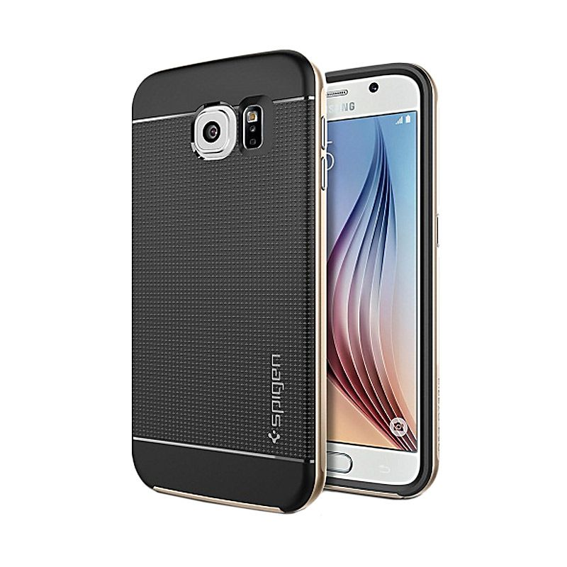 Spigen Neo Hybrid Champagne Gold Casing for Galaxy S6