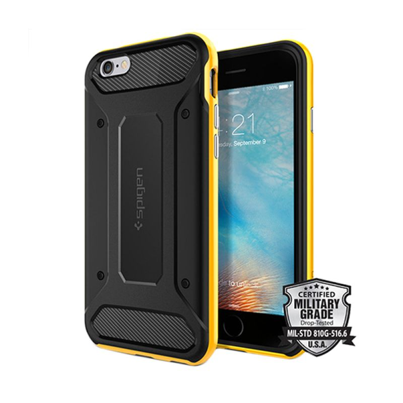 Spigen Neo Hybrid Carbon Yellow Casing for iPhone 6S