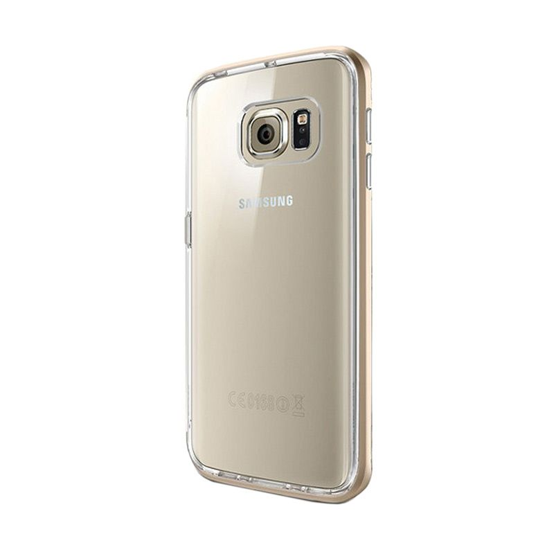 Spigen Neo Hybrid CC Champagne Gold Casing for Galaxy S6 Edge