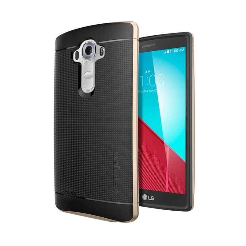 Spigen Neo Hybrid Champagne Gold Casing for LG G4