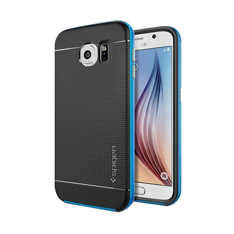 Spigen Neo Hybrid Electric Blue Casing for Galaxy S6