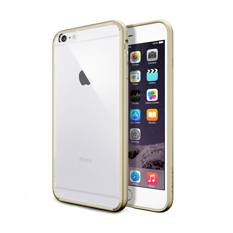 Spigen Neo Hybrid Ex Champagne Gold Casing for iPhone 6 Plus