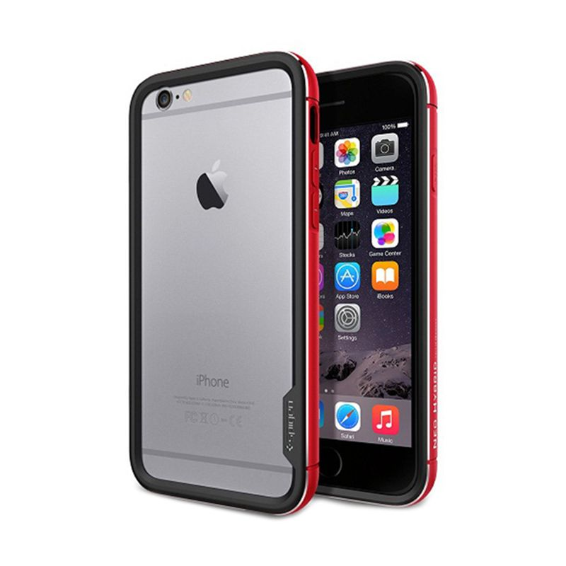 Spigen Neo Hybrid Ex Metal Red Casing for iPhone 6 Plus