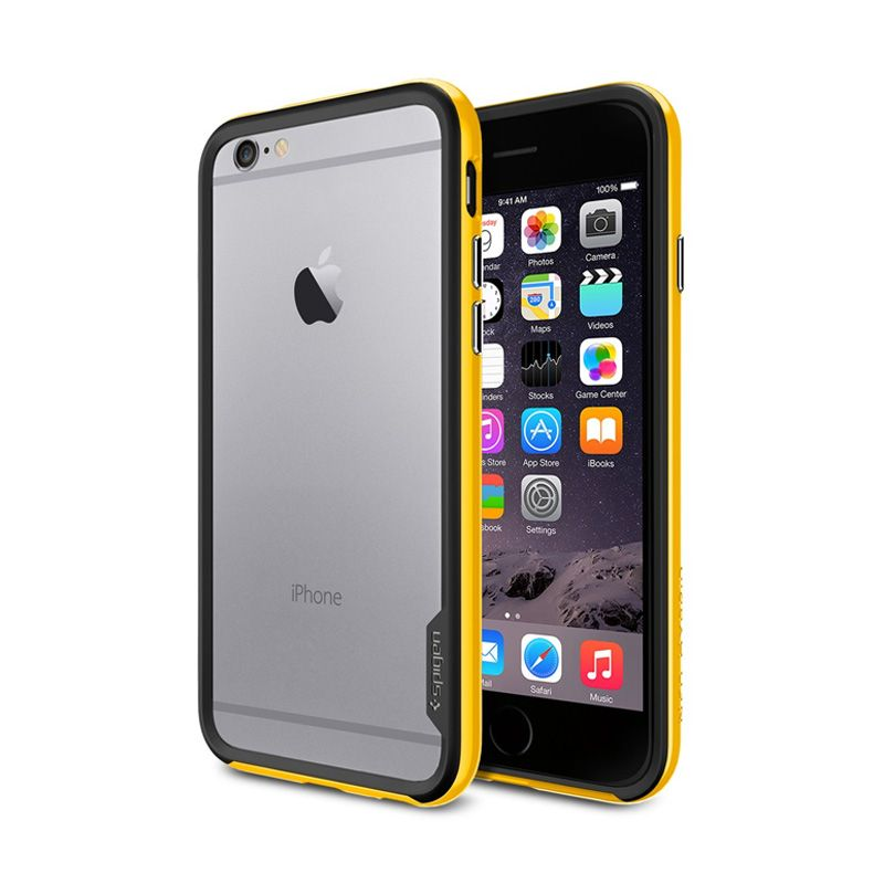 Spigen Neo Hybrid Ex Reventon Yellow Casing For iPhone 6