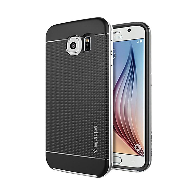 Spigen Neo Hybrid Gunmetal Casing for Galaxy S6 Edge