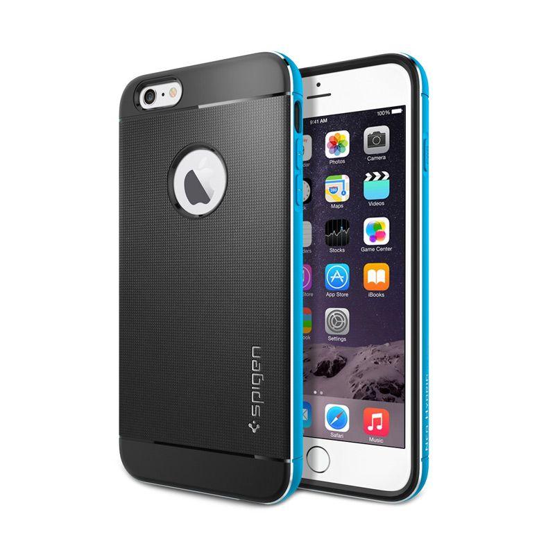 Spigen Neo Hybrid Metal Metal Blue Casing for iPhone 6 Plus